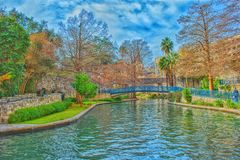 Riverwalk in San Antonio, Texas royalty free stock image