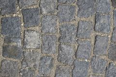 Part of road surface, paved with cobbles. Part of road surface, paved with cobbles stock photo