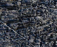 Part of rock close up. Royalty Free Stock Photos