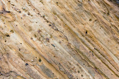 Part of rock close up. Royalty Free Stock Photography