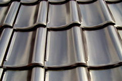 Part of a roof Stock Image