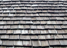 Part of roof wood Royalty Free Stock Photos