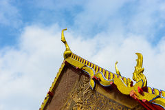 A part of root in Wat po, Bangkok, Thailand. Stock Photo