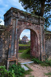 Part of the Royal Chinese Palace. Located at Hue, Vietnam. Royalty Free Stock Photography
