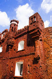 The Brest fortress. Part of ruins of the Brest fortress. Holmsky gate, injured wars Royalty Free Stock Photography