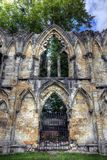 St Mary`s Abbey, York Royalty Free Stock Images