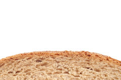 Part of rye bread with crust Stock Photography