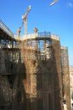 Part of Sagrada Familia Spain Stock Photography