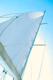 Part of sails Royalty Free Stock Image