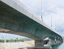 Part of the Sarasin Bridge. Royalty Free Stock Image