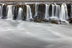 Part of the Selfoss in Iceland Royalty Free Stock Photography