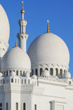 Part of Sheikh Zayed Grand Mosque Royalty Free Stock Images