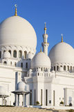 Part of Sheikh Zayed Grand Mosque Stock Photos