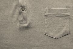 Part shirt closeup of beige color Stock Image