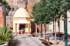 Part of Silves Town Square Royalty Free Stock Image
