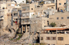 Part of Silwan Village Royalty Free Stock Photo