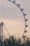 Part of singapore flyer Royalty Free Stock Images