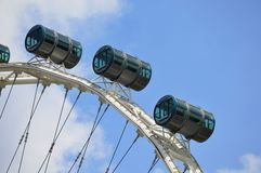 The Part of Singapore Flyer Stock Image