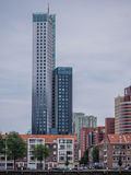Part of the skyline of Rotterdam Royalty Free Stock Images