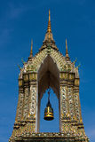Part of the sleeping buddha temple Royalty Free Stock Photos