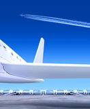 Part of small plane Royalty Free Stock Image