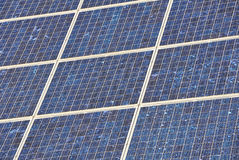 Part of a solar panel Royalty Free Stock Photos