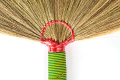 Part of the sorghum brooms. For background Royalty Free Stock Images