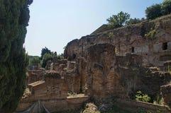Part of Sostruzioni della Terrazza, Rome, Italy, summer. Photo of part of Sostruzioni della Terrazza, Terrace Supplements, Rome, Italy, summer royalty free stock photos