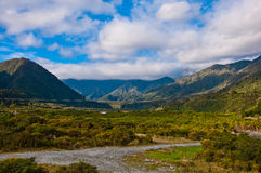 Part of southern alps Stock Images