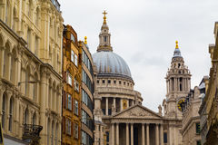 Part of St Pauls Stock Photo
