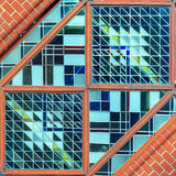 Part of stained glass Stock Images