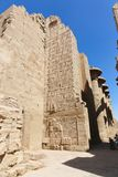 Part of statue at Karnak Temple - Egypt Stock Photography