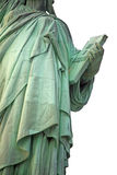 Part of Statue of Liberty New York,  USA Stock Image