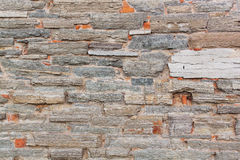 Part of a stone wall Royalty Free Stock Image