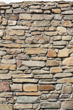 Part of a stone wall, Stock Image