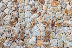 Part of a stone wall Stock Image