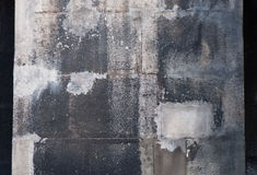 Part of the stone wall. Royalty Free Stock Photography