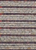 Part of the stone wall. Royalty Free Stock Images