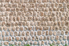 Part of a stone wall, for background or texture. Stock Image