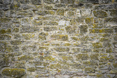 Part of a stone wall for background or texture Stock Photography