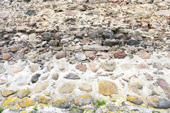 Part of a stone wall Royalty Free Stock Photography