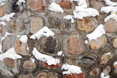 Part of a stone wall Royalty Free Stock Photos