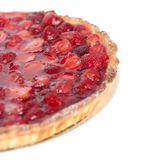 Part of the strawberry pie Royalty Free Stock Photo