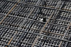 Part of the structural element of the reinforcement. stock photography
