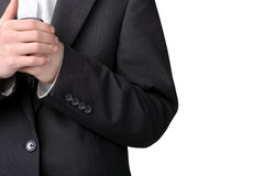 Part of suit Stock Images