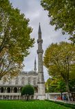 Part of Sultan Ahmed Mosque stock photo