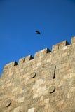 Old Jerusalem City Wall Royalty Free Stock Image