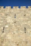Old Jerusalem City Wall Stock Photos