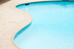 Part of swimming pool Royalty Free Stock Photos
