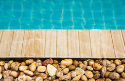 Part of swimming pool Stock Photography